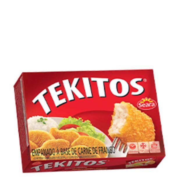 Oferta de Empanado de Frango Tekitos Sabores 300g por R$6,49