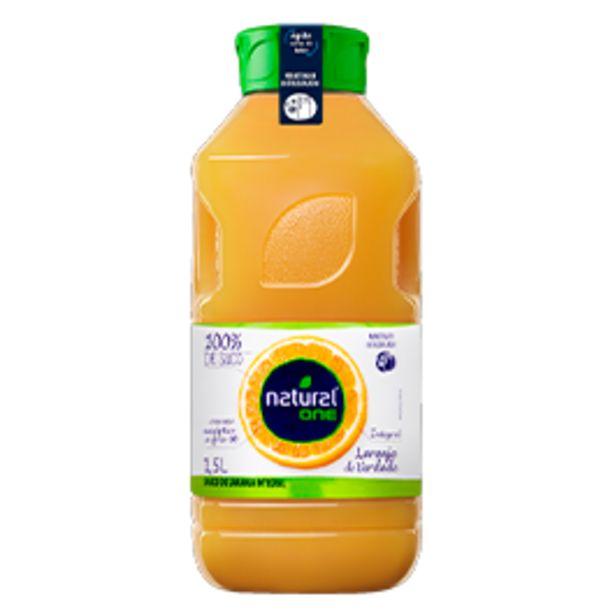 Oferta de Suco de Laranja Integral Natural One 1,5L por R$10,9