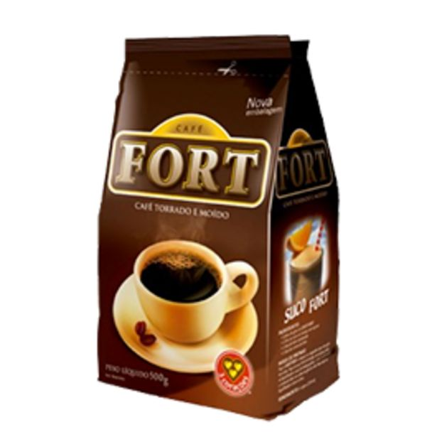 Oferta de Café Fort Pacote 500g por R$6,99