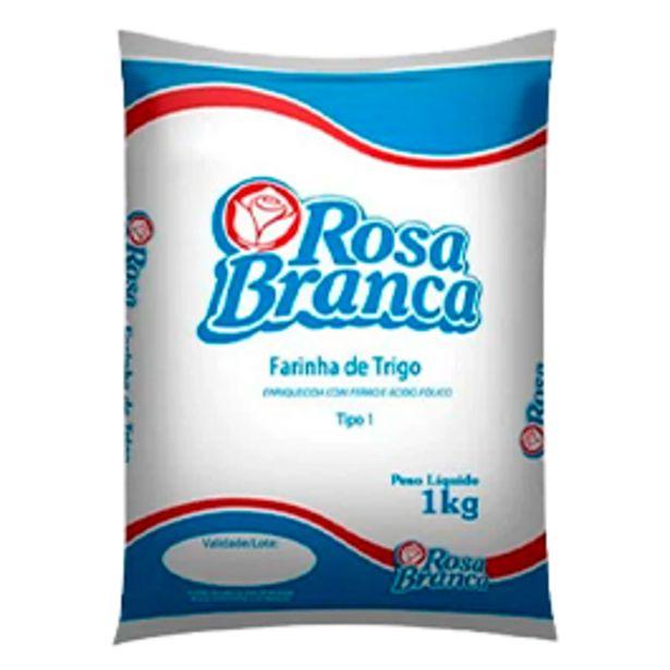Oferta de Farinha de Trigo Rosa Branca Embalagem Plástica 1 kg por R$2,99