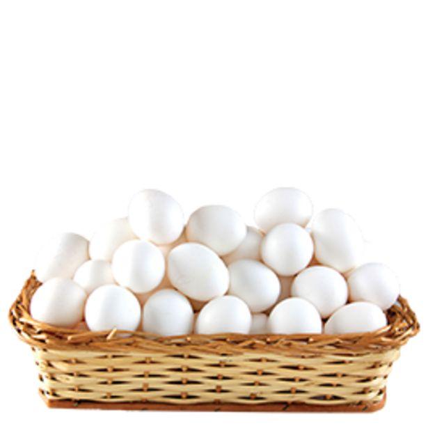 Oferta de Ovos Brancos Mantiqueira PVC com 20 unidades por R$8,9