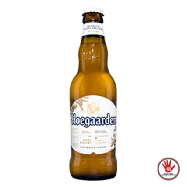 Oferta de Cerveja Hoegaarden Long Neck 330mL por R$6,99
