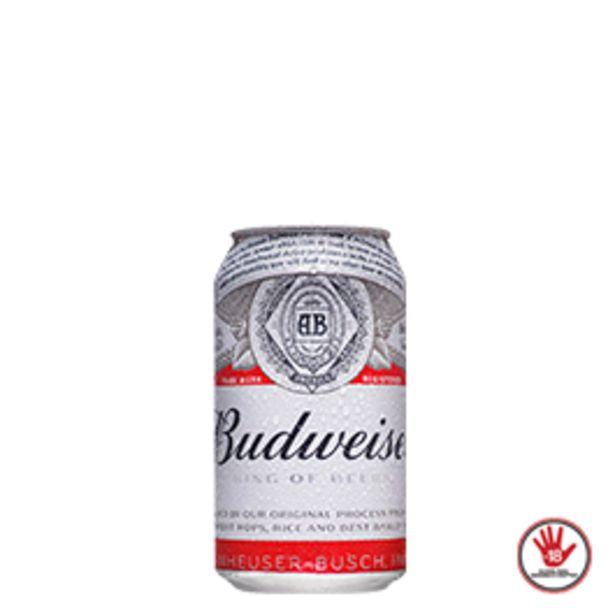 Oferta de Cerveja Budweiser Lata 350mL por R$3,19