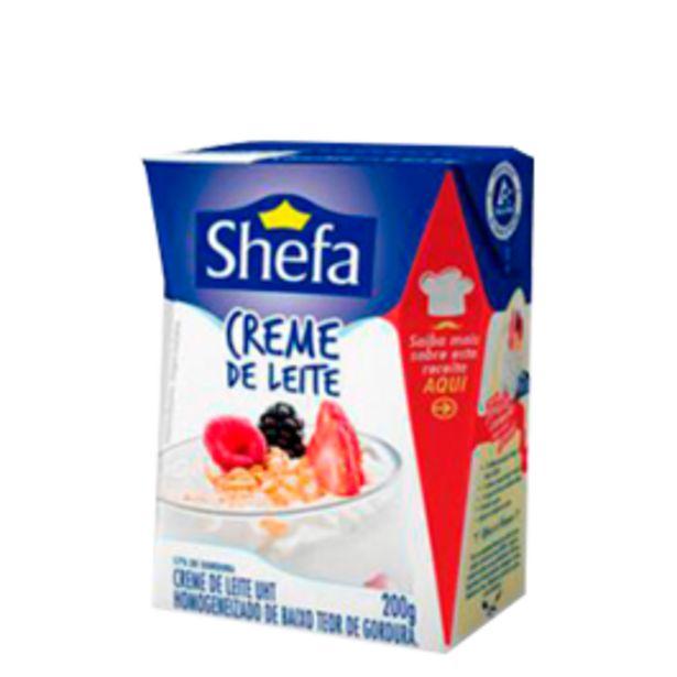 Oferta de Creme de Leite Shefa TP 200g por R$2,39