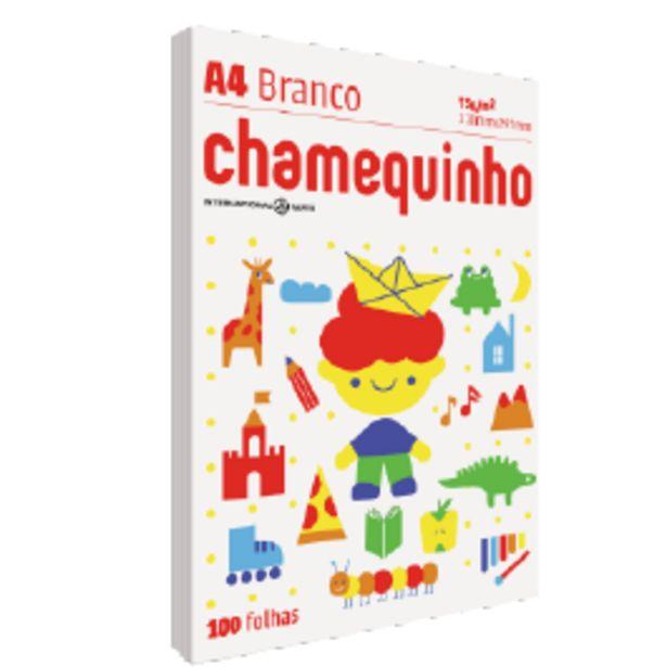 Oferta de Papel Branco Sulfite Chamequinho A4 por R$4,99