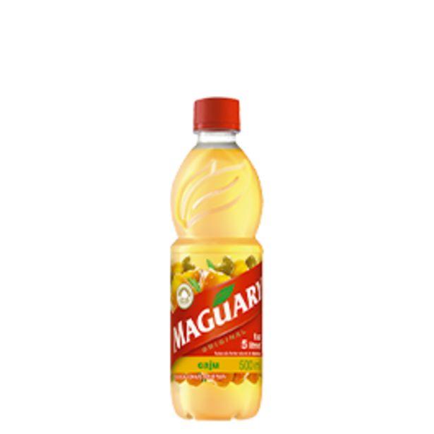 Oferta de Suco de Caju Concentrado Maguary Pet 500mL por R$3,49