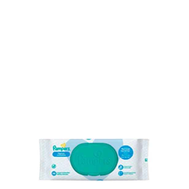 Oferta de Lenços Umedecidos Pampers Higiene Completa com 48 unidades por R$13,9