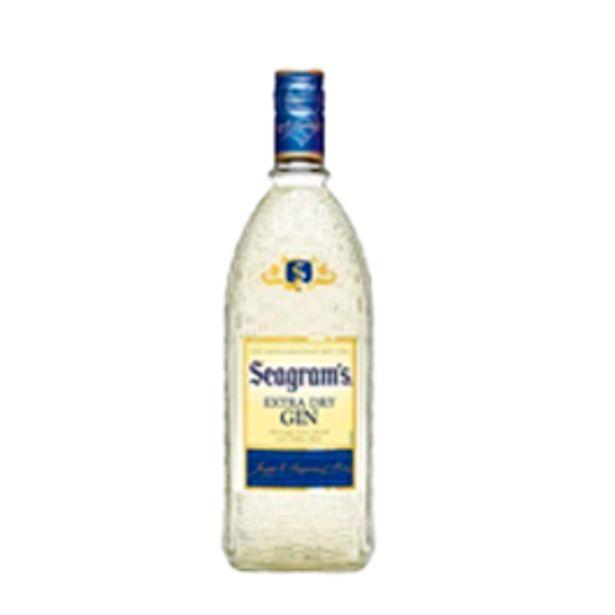 Oferta de Gin Seagrams 750mL por R$64,9