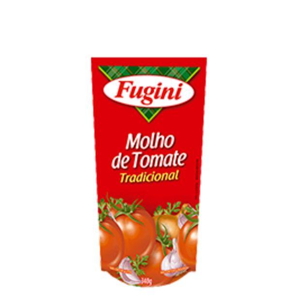 Oferta de Molho de Tomate Tradicional Fugini Sachê 300g por R$1,09