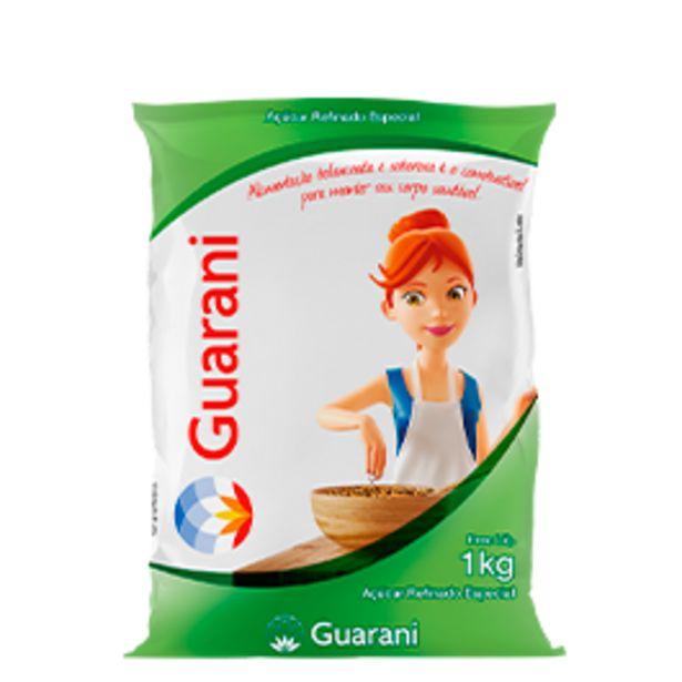 Oferta de Açúcar Refinado Guarani Pacote 1 kg por R$3,39