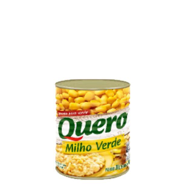 Oferta de Milho Verde Quero Lata 170g por R$2,29