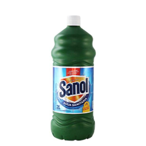 Oferta de Água Sanitária Sanol 2L por R$2,99