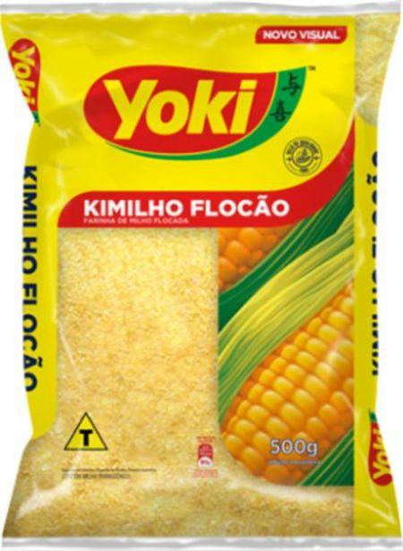 Oferta de Flocão de Milho Kimilho Yoki 500 g por R$1,69