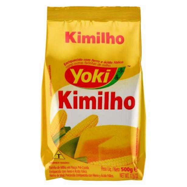 Oferta de Flocos de Milho Kimilho Yoki 500 g por R$1,49