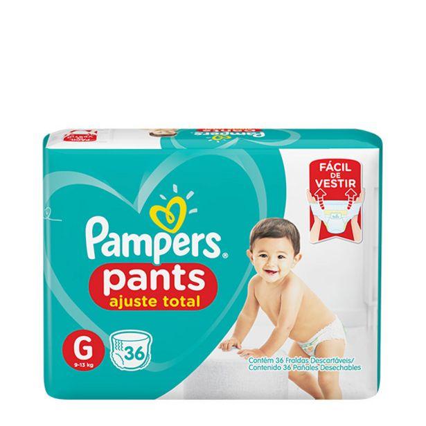 Oferta de Fralda Pampers Pants por R$42,9