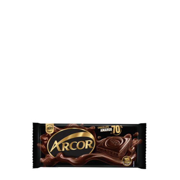 Oferta de Chocolate Arcor Amargo por R$4,98