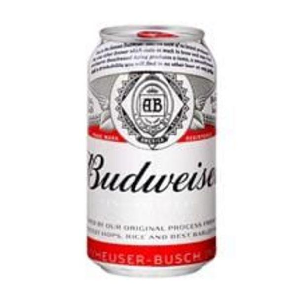 Oferta de Cerveja Budweiser  Lager Lata  350 mL por R$3,39