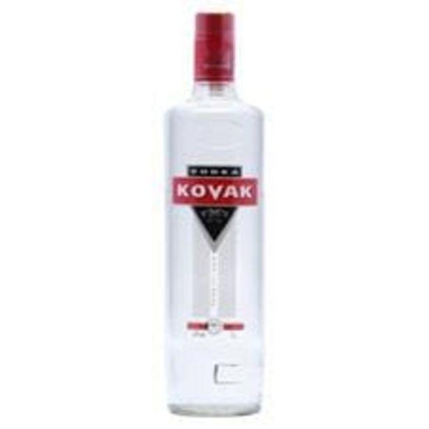 Oferta de Vodka Kovak Garrafa 1 L por R$21,5