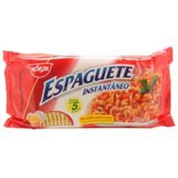 Oferta de Espaguete Instantâneo Nissin  500 g por R$7,79