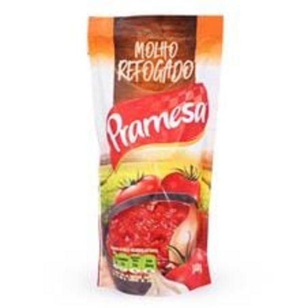 Oferta de Molho de Tomate Pramesa Sachê  340 g por R$0,99