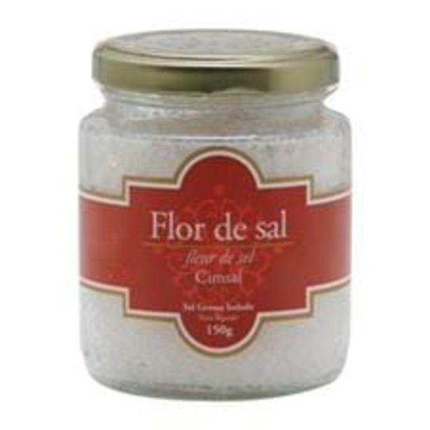 Oferta de Flor do Sal Cimsal Vidro 150 g por R$20,25
