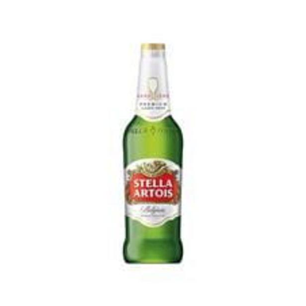 Oferta de Cerveja Brasileira Stella Artois Premium Pilsen Garrafa  550 mL por R$7,49