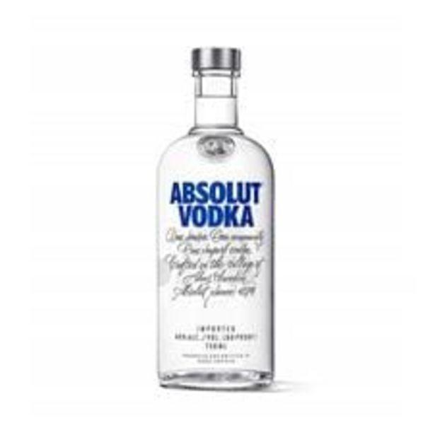 Oferta de Vodka Absolut Garrafa 750 mL por R$68,9