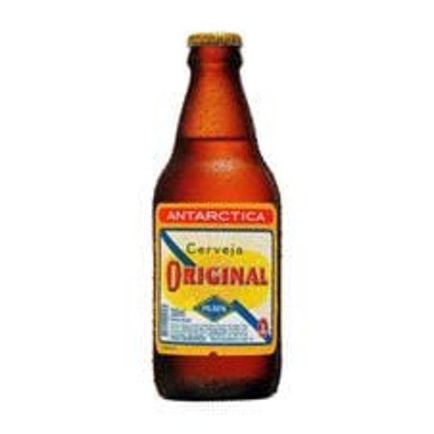 Oferta de Cerveja Antarctica Original Pilsen Garrafa  300 mL por R$3,49