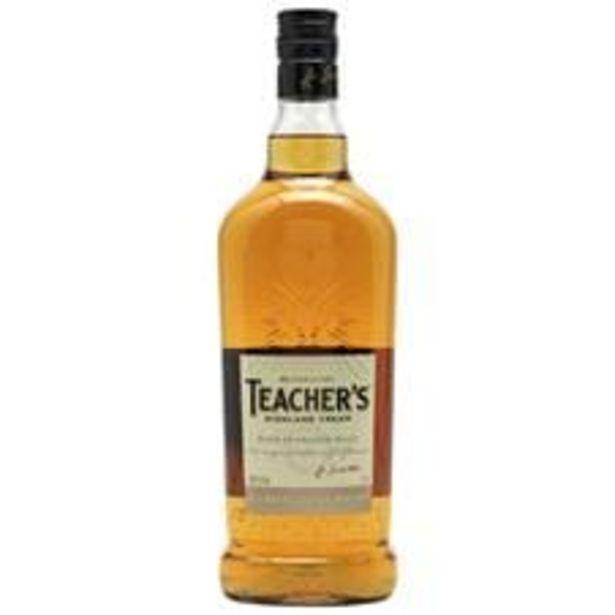 Oferta de Whisky Teacher s Garrafa 1 L por R$39,9