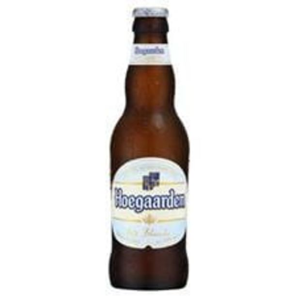Oferta de Cerveja Hoegaarden Weissbier Trigo  Long Neck  330 mL por R$6,99