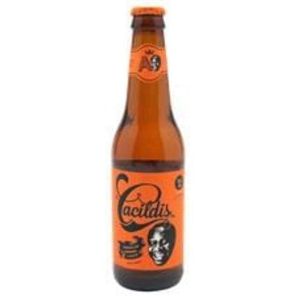 Oferta de Cerveja Cacildis Premium Lager  Long Neck  355 mL por R$3,99