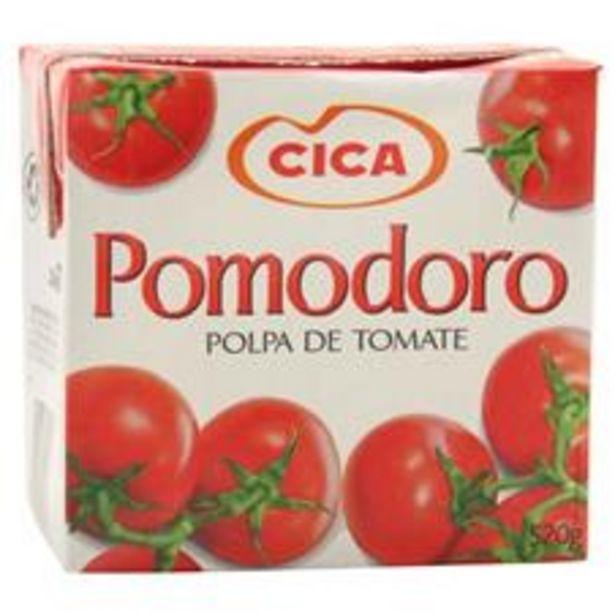 Oferta de Polpa de Tomate Cica Pomodoro Tetra Pak  520  g por R$4,89