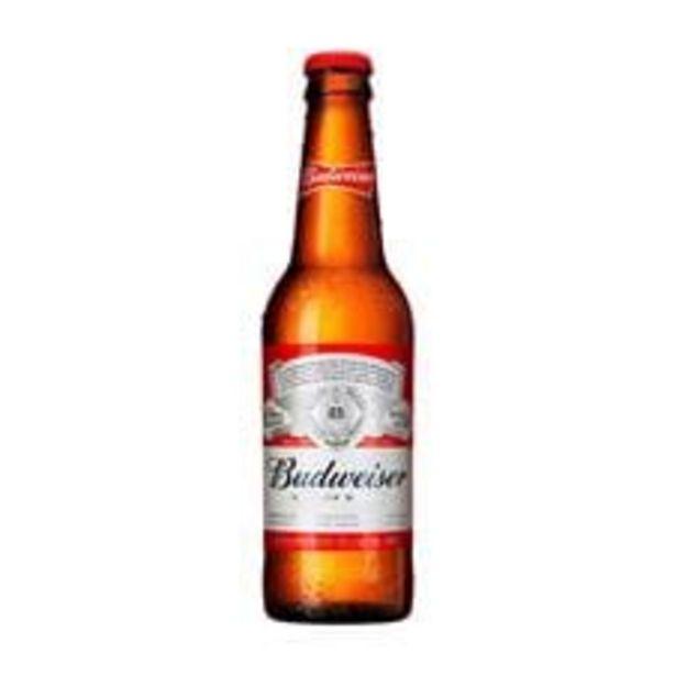 Oferta de Cerveja Budweiser  Lager  Long Neck  343 mL por R$3,89