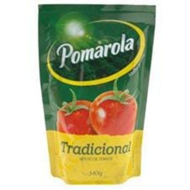 Oferta de Molho de Tomate Pomarola Tradicional Sachê  340 g por R$2,99