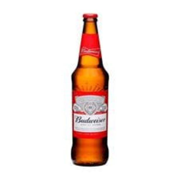 Oferta de Cerveja Budweiser  Lager Garrafa  600 mL por R$6,99