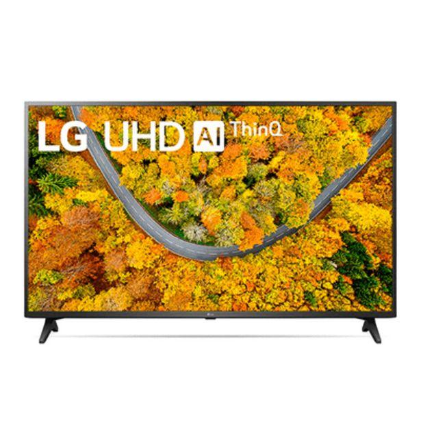 Oferta de Smart TV UHD 50UP7550 4K LG 50'' por R$3085,9