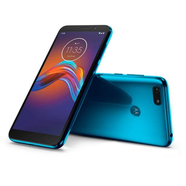 Oferta de Smartphone Motorola E6 Play 32GB Azul por R$899
