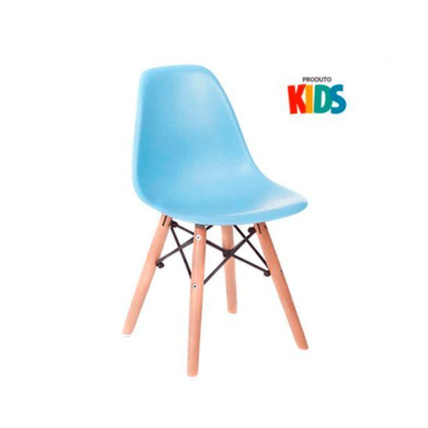 Oferta de Cadeira Elegance Infantil Eames Eifel Azul por R$69