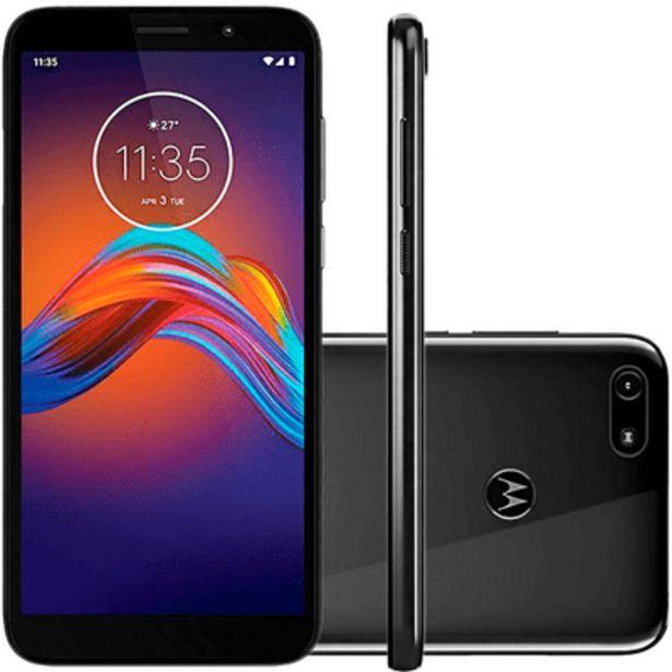 Oferta de Smartphone Motorola E6 Play 32GB Cinza por R$899