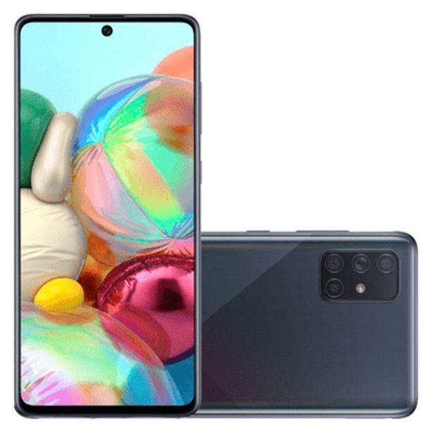 Oferta de Smartphone Samsung A71 128gb Preto por R$2199