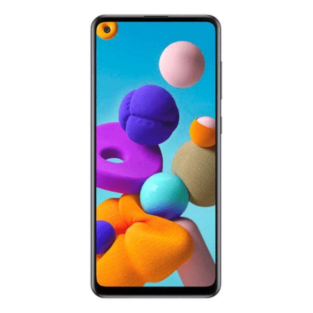 Oferta de Smartphone Samsung A21S 64GB Preto por R$1479