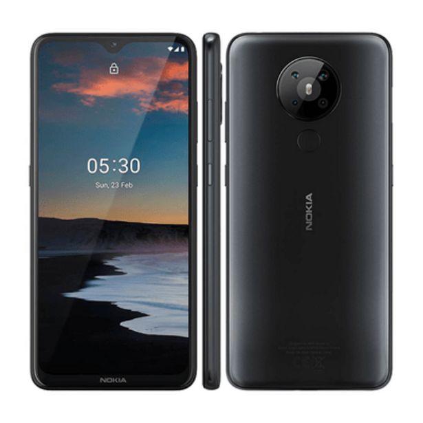 Oferta de Smartphone Nokia 5.3 Carvão 128GB por R$1698,9