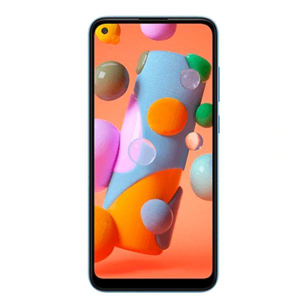 Oferta de Smartphone Samsung A11 64GB Azul por R$1199