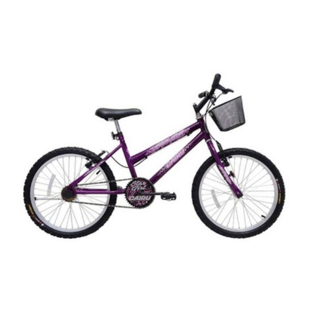 Oferta de Bicicleta Aro 20 Mtb Feminino Star Girl Cairu por R$449