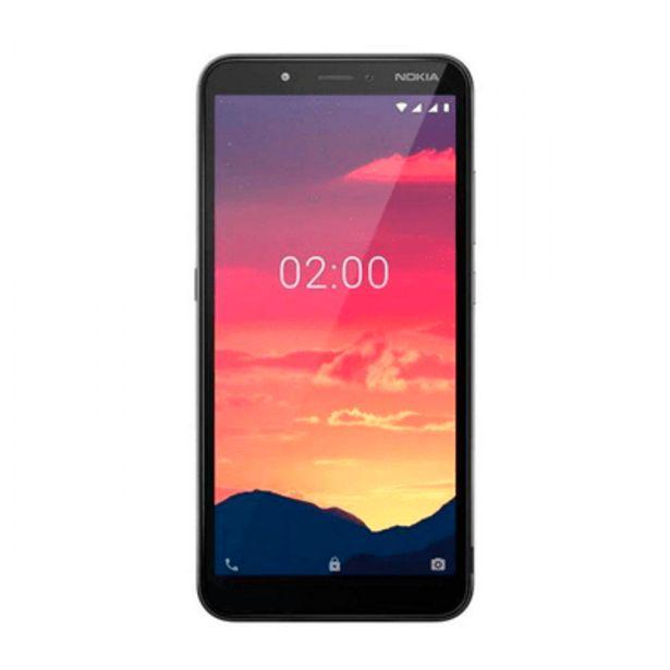Oferta de Smartphone C2 16GB Nokia Carvão por R$749