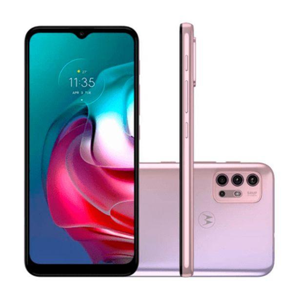Oferta de Smartphone Motorola G30 128GB Lilás por R$1499