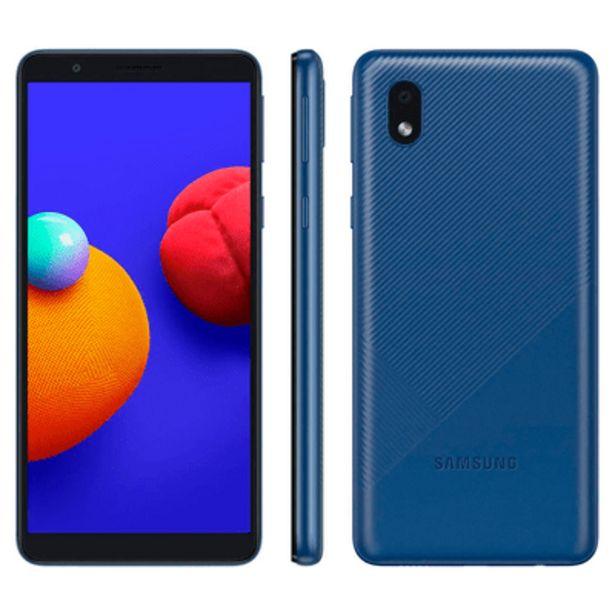 Oferta de Smartphone Samsung A01 Core 32GB Azul por R$699