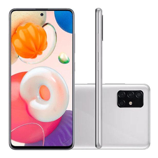 Oferta de Smartphone Samsung A51 128GB Cinza por R$1799