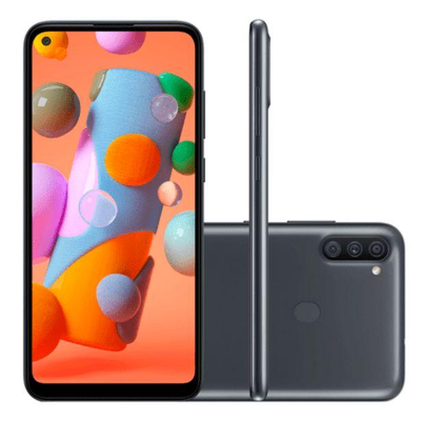 Oferta de Smartphone Samsung A11 64GB Preto por R$1199