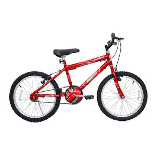 Oferta de Bicicleta Vermelha Super Boy Aro 20 Cairu por R$449